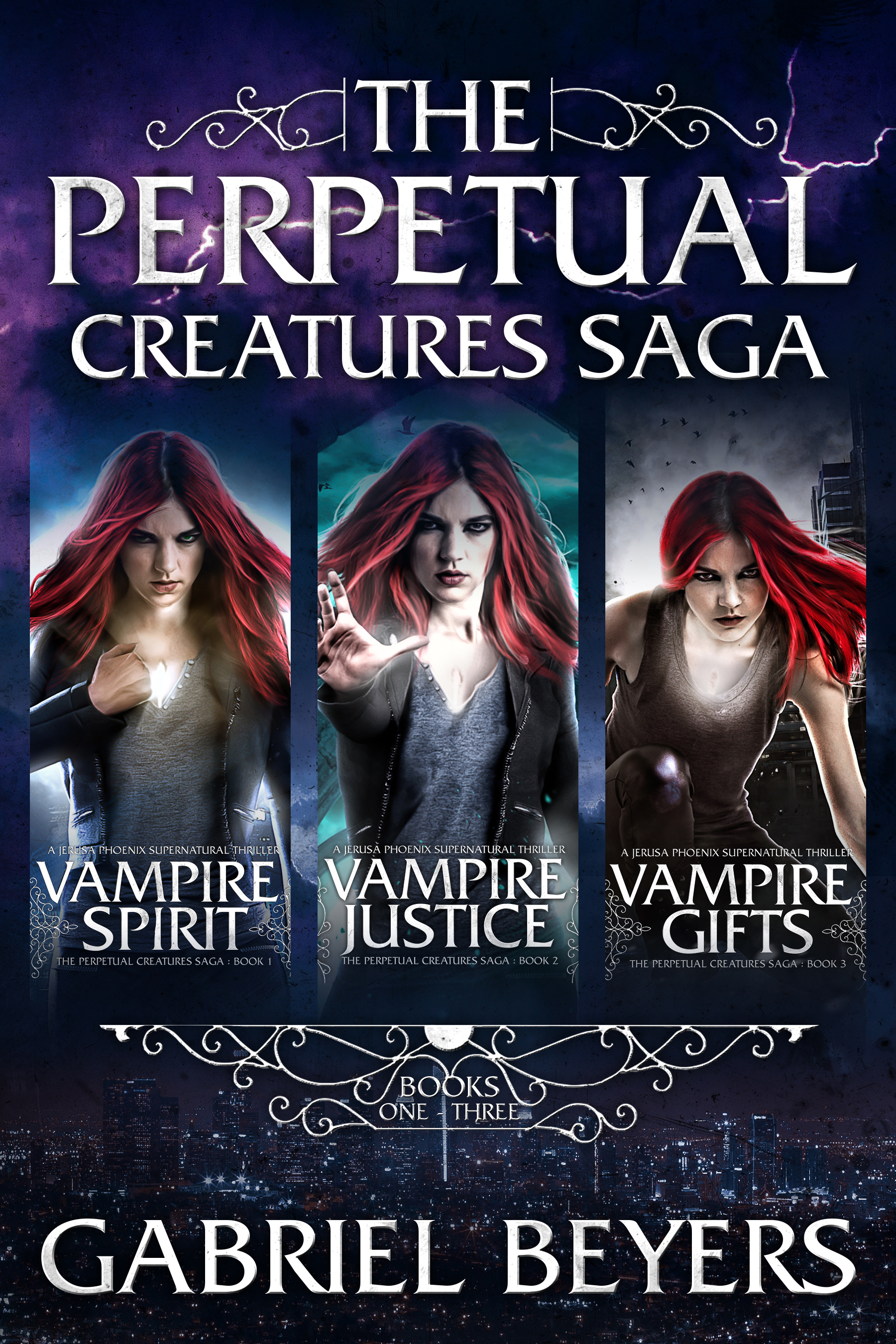 The Perpetual Creatures Saga Boxset: Books 1-3